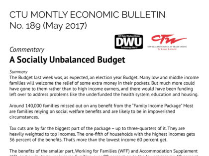 CTU Bulletin – May 2017