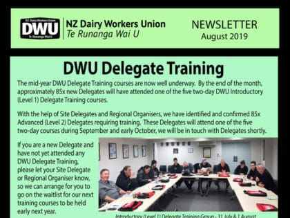New Zealand Dairy Workers Union | The Official Site of the DWU